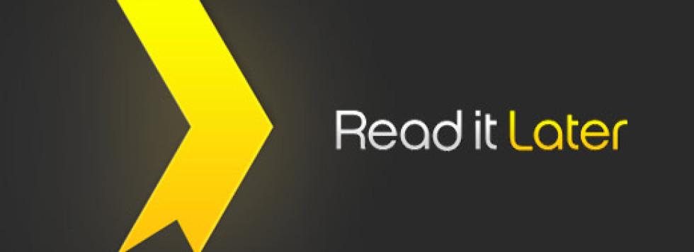 Envoyer du contenu Google Reader vers le service Read It Later