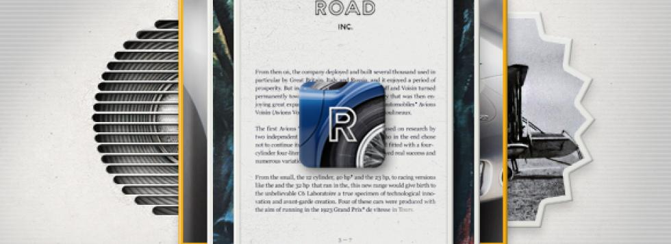 Promotion exceptionnelle pour Road Inc – Legendary Cars pour iPad
