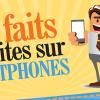 [infographie] Faits insolites à propos des téléphones portables