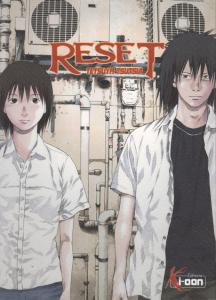 Page de couverture du manga Reset