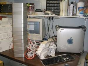 Cluster Apple fait maison