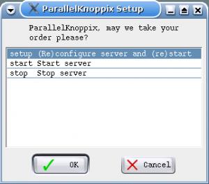 Configuration d'un serveur de cluster