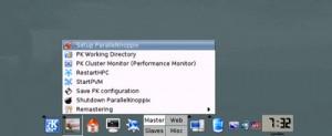 Bureau KDE sur ParallelKnoppix