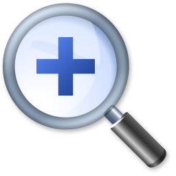 Logo représentant un zoom