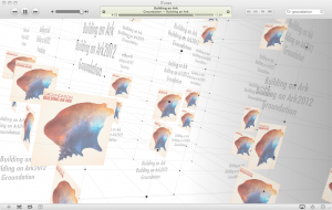 Visualizer Figure sous iTunes