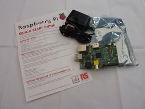 Le Raspberry Pi enfin sorti de son colis :)