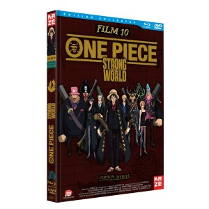 Boitier combo DVD - Bluray One Piece film 10