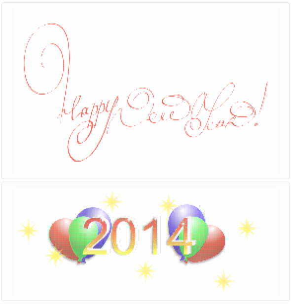 Sublimigeek vous souhaite une bonne année 2014