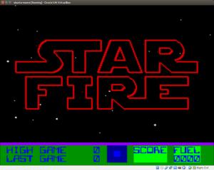 Une petite partie de StarFire sous MAME, ça vous tente ?