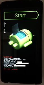 Nexus 5 - fastboot mode